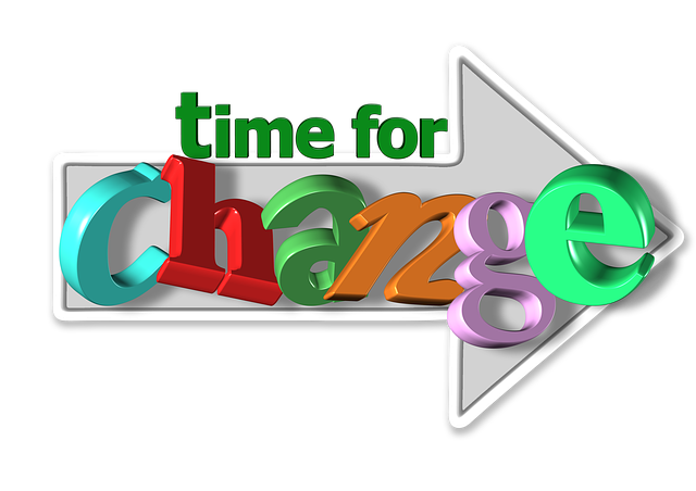 time for change-graphic