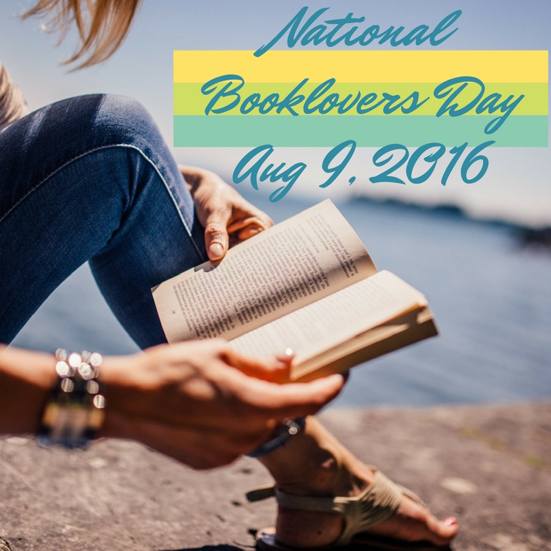 National Booklovers Day Aug 9, 2016