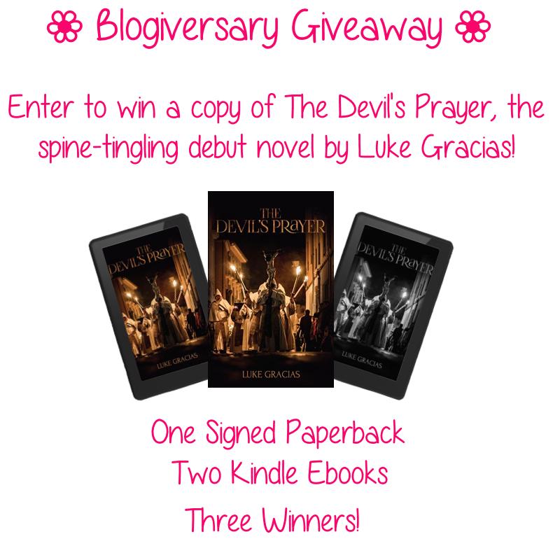 Blogiversary Giveaway - The Devil's Prayer