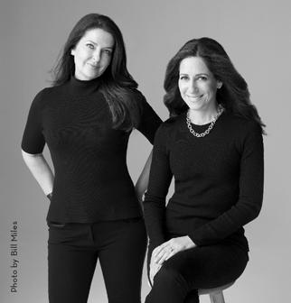 Sarah Pekkanen and Greer Hendricks (Photo by Bill Miles)