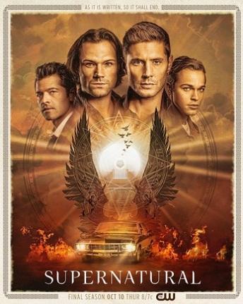 supernatural season fifteen poster